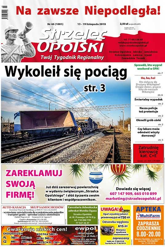 """""""Strzelec Opolski"""" Tygodnik Regionalny"""